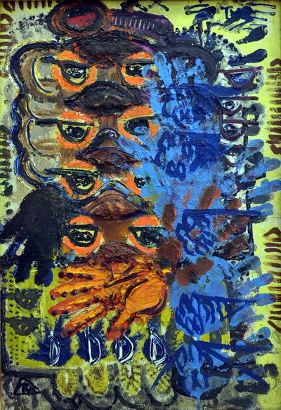 ''Traces'' Artist: Ion Tuculescu