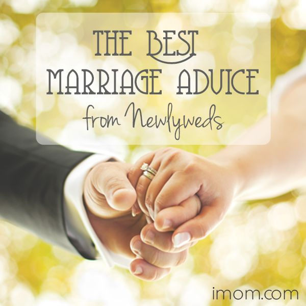 Newlyweds are usually the ones getting marriage advice, and for good reason – the longer we're married, the more we realize the challenges that marriage brings and how to overcome them. Here is the best marriage advice FROM newlyweds. #marriageadvice