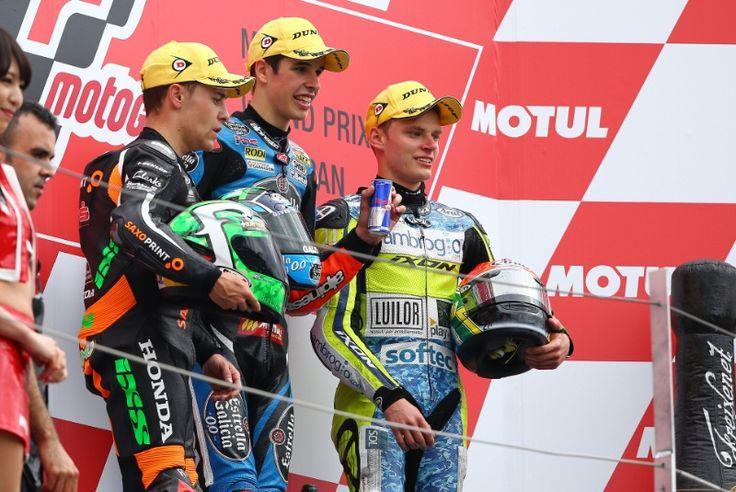 Vazquez, Alex Marquez, Binder, Moto3 race, Japanese MotoGP 2014