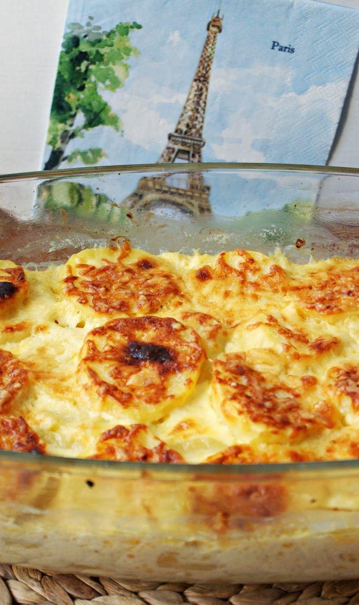 Kulinarne Inspiracje: Gratin Dauphinois, czyli zapiekanka ziemniaczana ze śmietaną i jajkami