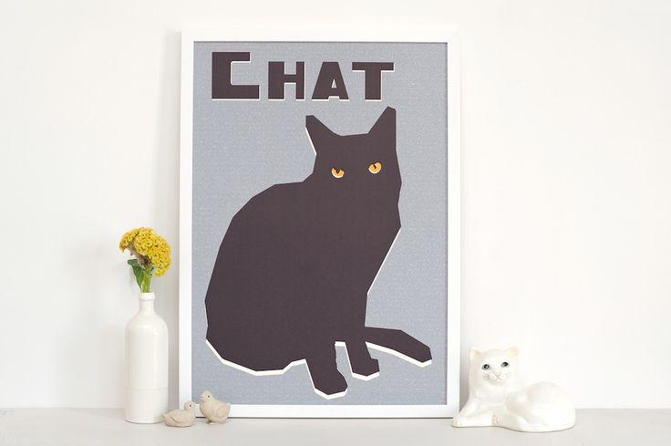 double merrick le chat print