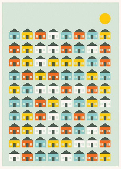 Suburban Home by Skinny Ships, via Flickr