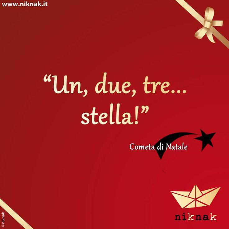 Citazioni di Natale: stella cometa.  Christmas quotes | Christmas graphic | Funny quotes