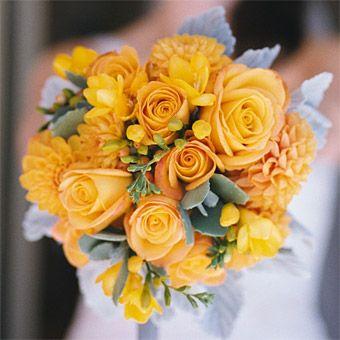 Brides: Brightly-Colored Wedding Flower Ideas : Wedding Flowers Gallery