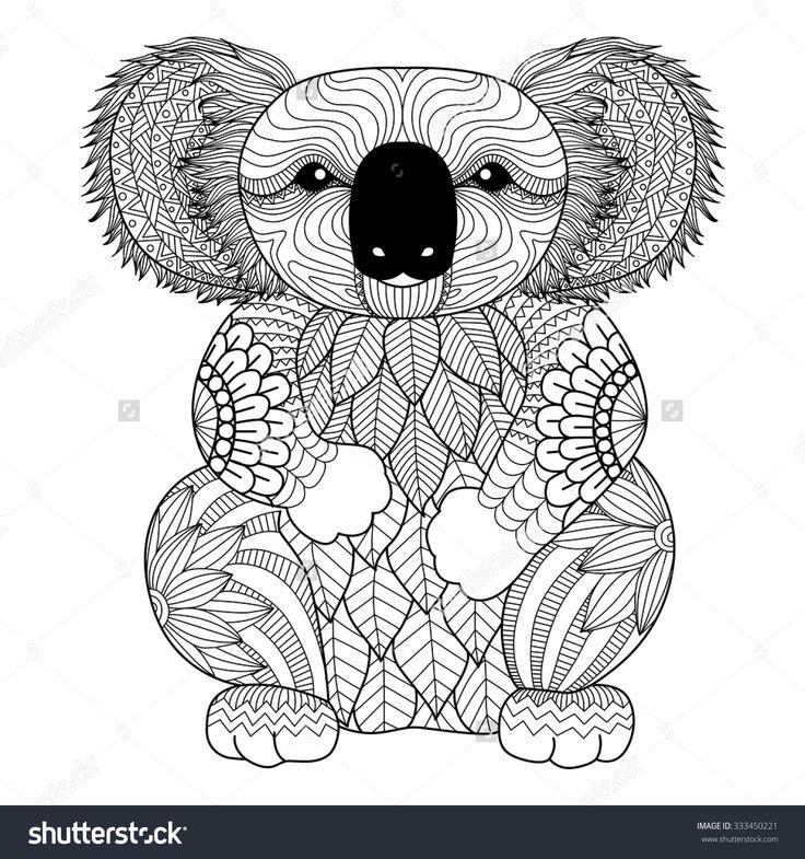 Mejores 43 imágenes de Koala Heart Tattoo en Pinterest | Tatuaje de ...