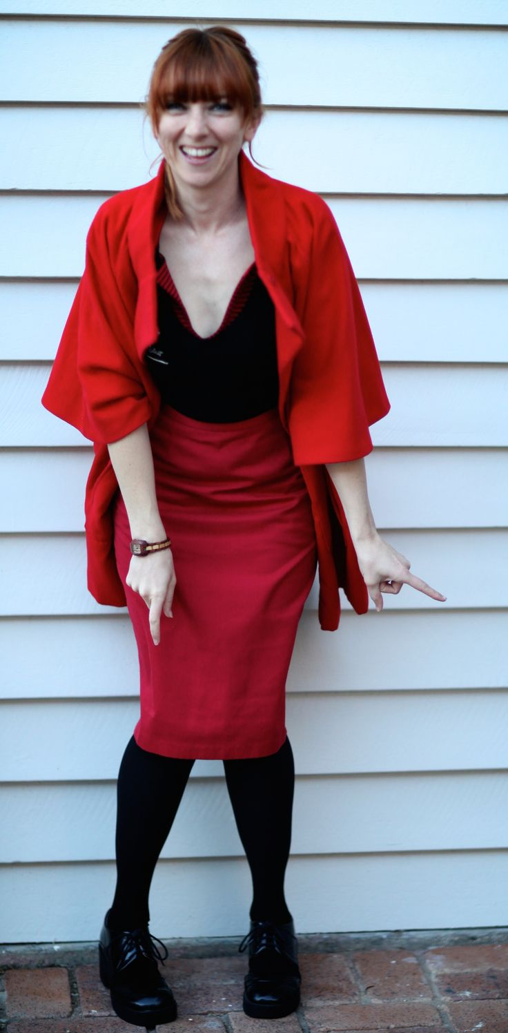 New post up on www.waytofash.com  Here's a fun way to wear red