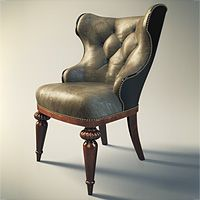 Classic Chair 3Ds MAX tutorial