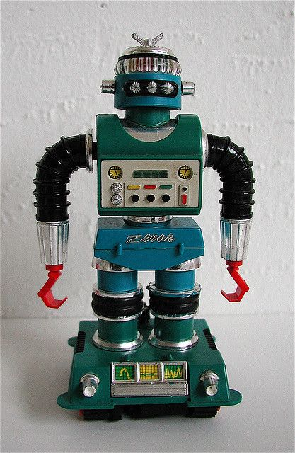 Robot Movies From the 70s | ideal motorized zeroid robot: zerak the destroyer (1967-70) | Flickr ...