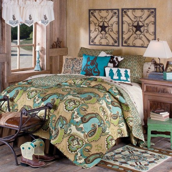 Best 25+ Western bedding sets ideas on Pinterest | Western bedroom ... : western quilt bedding sets - Adamdwight.com