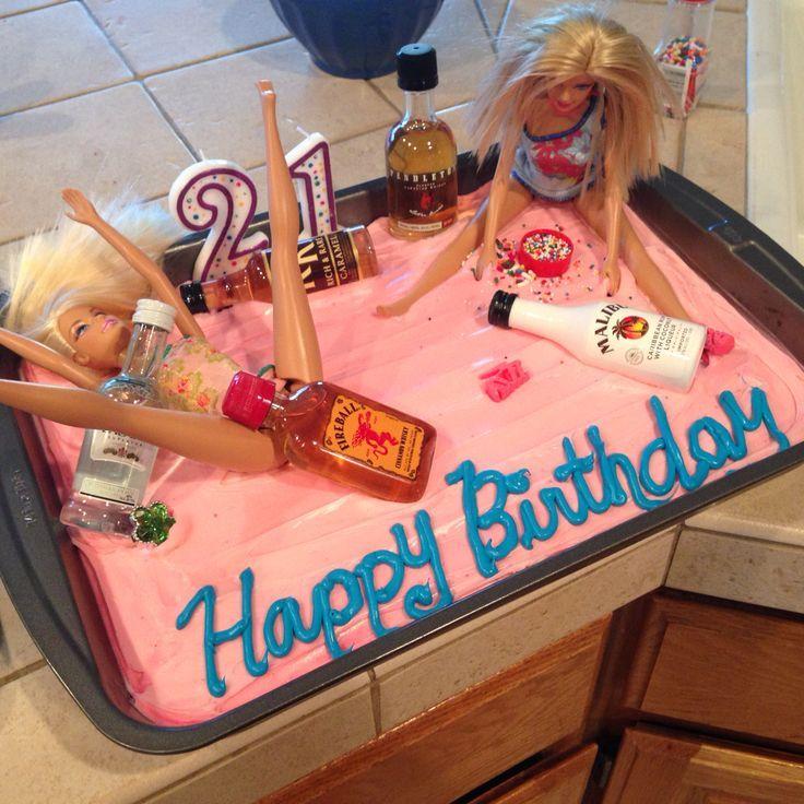 Habe heute einen 21. Geburtstagskuchen für meine beste Freundin gemacht! Hoffe …