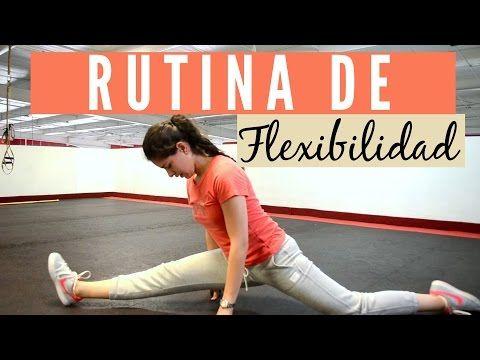 AUMENTAR LA FLEXIBILIDAD RAPIDAMENTE - Estiramientos de piernas y caderas para ganar elasticidad - YouTube