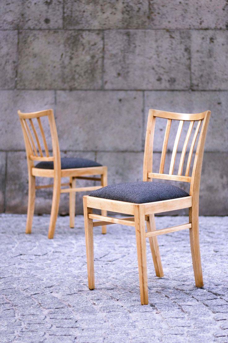 Krzesła PRL, lata 60. Midcentury design. 60's Renowacja: LEKKA Furniture