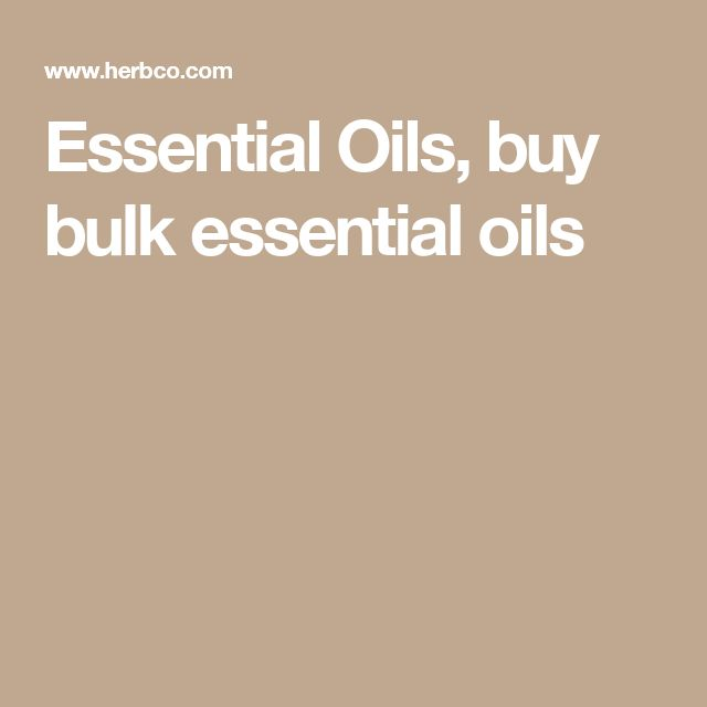 Essential Oils, buy bulk essential oils