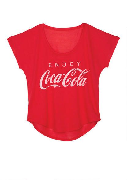 Enjoy Coca Cola Tee - View All Graphic Tees - Graphic Tees - Clothing - dELiA*s