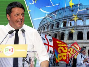 THE EU's days might be numbered with Italy about to vote on a referendum which could send shockwaves across the continent.