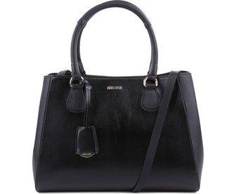Nada melhor que a boa e nova bolsa preta básica, né? Discreta, estilosa, prática e um must have no closet de qualquer fashionista: Tote Londres. Para acertar sempre!