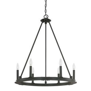 Shop for Capital Lighting Pearson Collection 6-light Black Iron Chandelier. Get free shipping at Overstock.com - Your Online Home Decor Outlet Store! Get 5% in rewards with Club O!