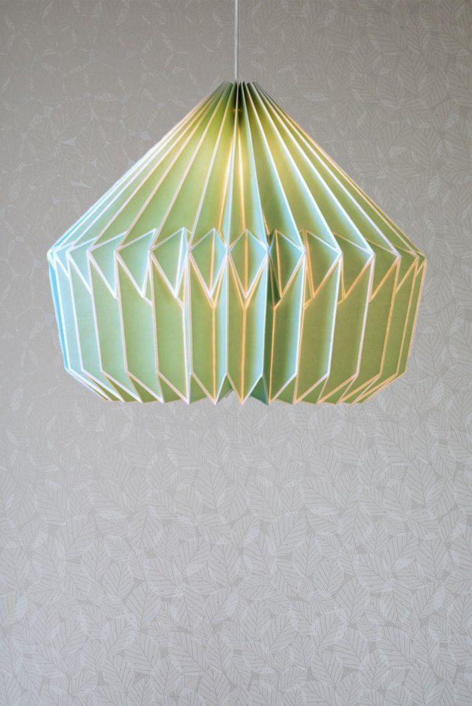 Caspian paper lampshade