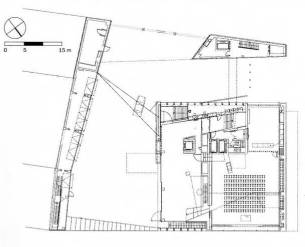 Oma koolhaas netherlands embassy germany berlin 2003 for Full size architectural drawings