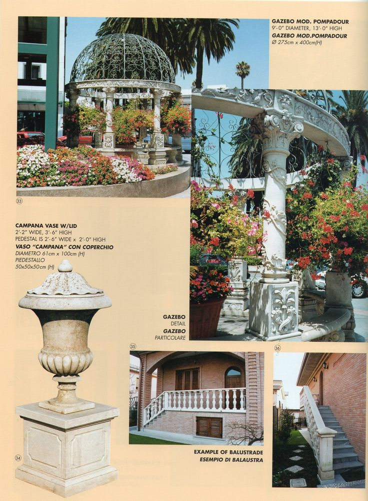 pag 8 - catalogue - Garden Ornaments Stone srl - www.gardenorn.com