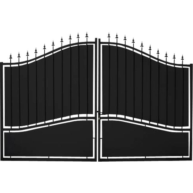 25 b sta portail aluminium battant id erna p pinterest for Portail battant 3m50
