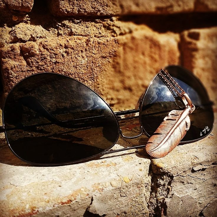 Raybans and Aistikas jewelry.Guaranteed to bring me luck! :)