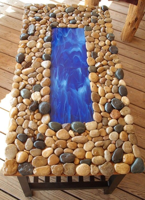 87 best river rock creations images on pinterest river for River rock craft ideas