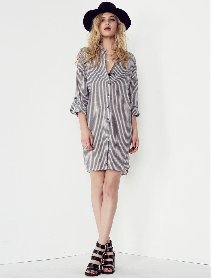 Isla by Talulah - Hamptons Shirt Dress