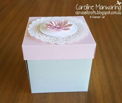 Carussell Crafts: Mother's Day Explosion Box Card