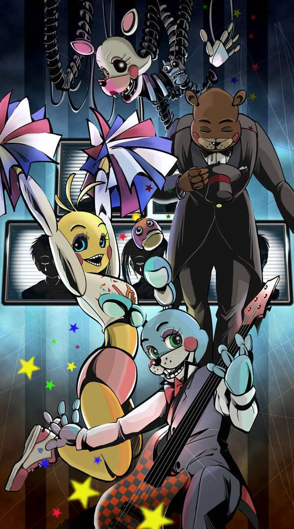 five nights at Freddy's /toy series by mamiboo on DeviantArt