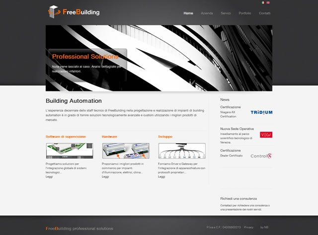 FreeBuilding Company Website