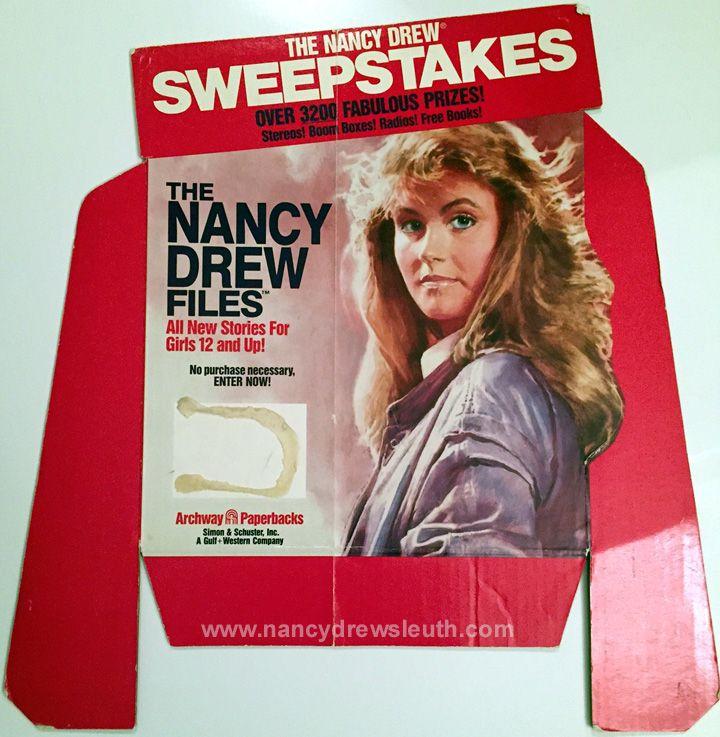 Jenn Fisher Nancy Drew Collection - Nancy Drew Files Book Display Top