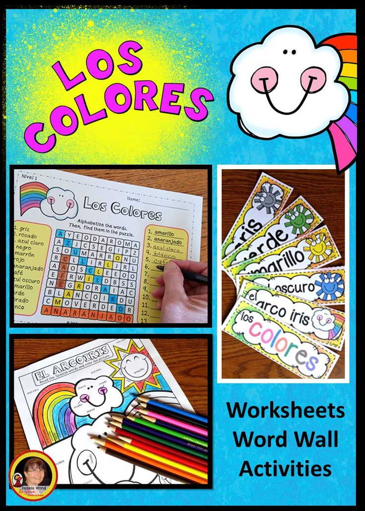 Question Marks Worksheet Word  Best My Spanish Resources Images On Pinterest  Spanish  Dracula Worksheets Pdf with Personal Fitness Worksheet Pdf Spanish Colors Re Prefix Worksheets Word