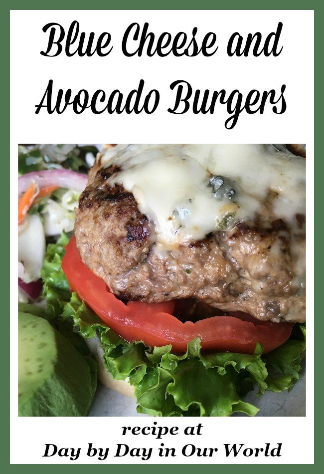 Enjoy a good burger and want to make it at home? Learn how to make Blue Cheese and Avocado Burgers which are super juicy, too!
