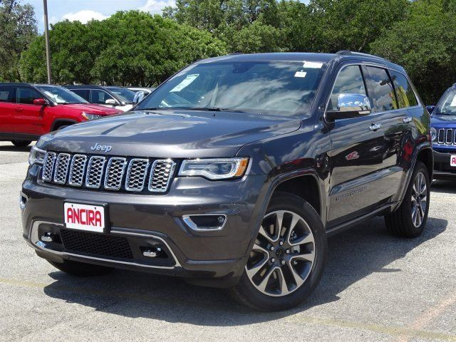 Research The 2018 Jeep Grand Cherokee Overland Granite Crystal