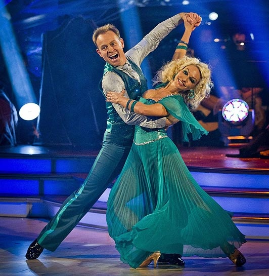 Jason Donovan and Kristina Rihanoff, 2011 SCD