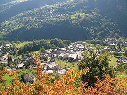 Antey-Saint-André – Veduta