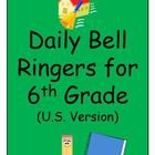 This resource contains a full year's worth of daily bell work, organized by month, from August to June, with a short summer section for classes involved in year-round schools.  Tasks reinforce & review concepts from the 6th grade curriculum, with some tasks adapted from state & provincial tests.  Answer keys are provided for each month.