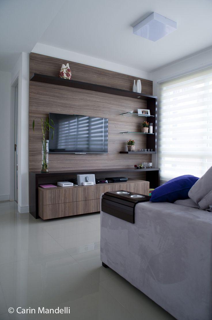 TV instalada no Painel - Suporte Fixo ELG #suporteELG #decoracao