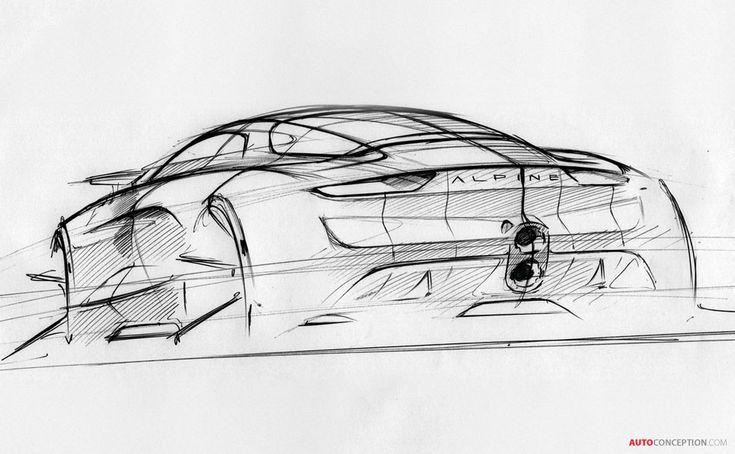 Renault Alpine Vision Concept Revealed
