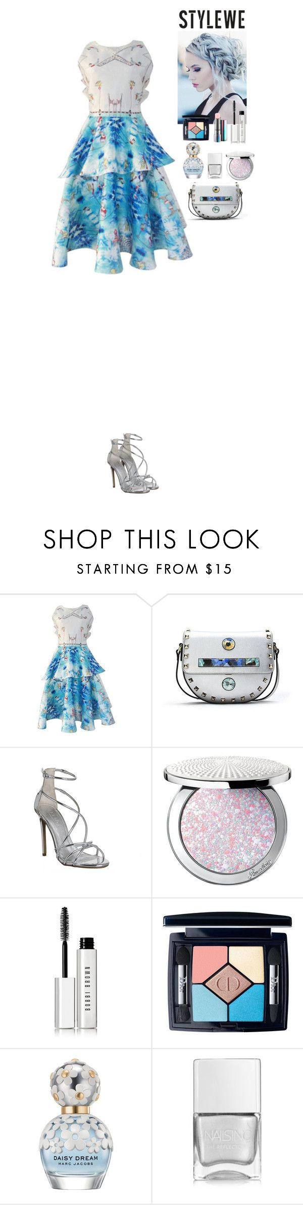 Lovely outfit StyleWe by eliza-redkina on Polyvore featuring мода, Office, Guerlain, Christian Dior, Bobbi Brown Cosmetics, Marc Jacobs, MAC Cosmetics, Nails Inc., outfit and like