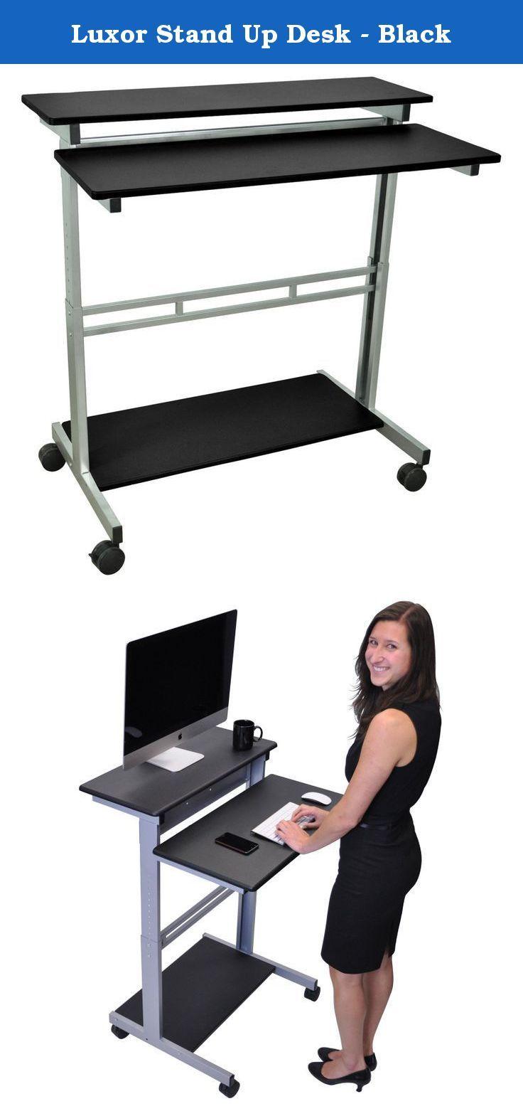 17 best ideas about stand up desk on pinterest diy standing desk standing desks and stand up desk. Black Bedroom Furniture Sets. Home Design Ideas