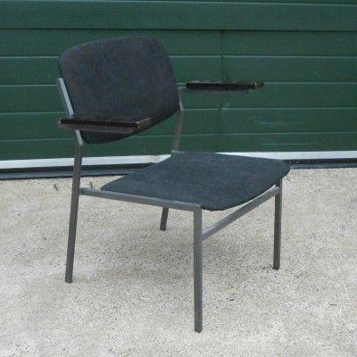 Located using retrostart.com > Lounge Chair by Gijs van der Sluis for Van der Sluis Stalen Meubelen