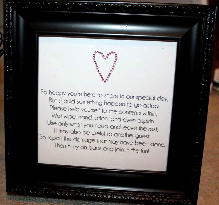 Wedding Bathroom Basket Ideas: 36 Best Images About Wedding - Hospitality Basket On Pinterest