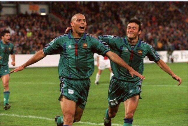 Ronaldo and Luis Enrique