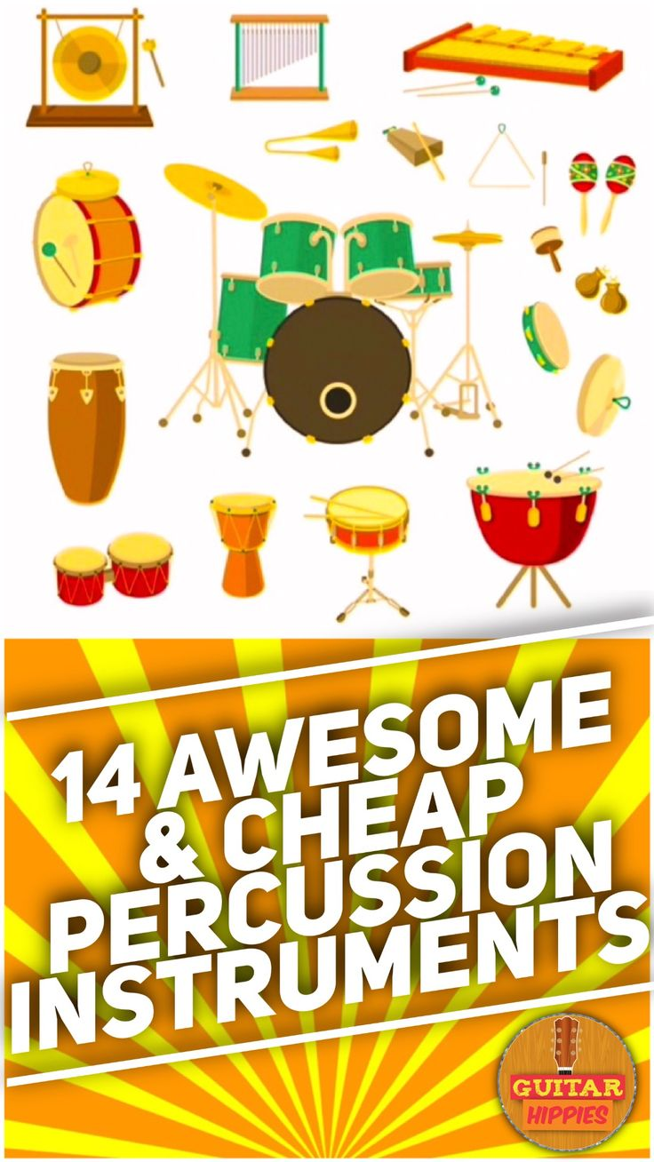 The Best Percussion Instruments that are also cheap...