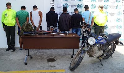 Policía Nacional capturó presuntos responsables de la muerte de una niña de dos años en Riohacha