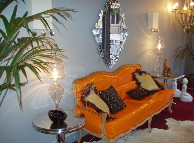 Sofá Naranja