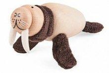 Anamalz Walrus wooden toy figure   www.minizoo.com.au