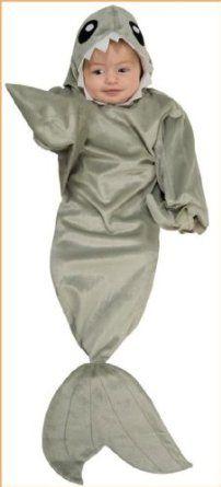 baby shark costume shark costume bunting newborn - Halloween Costume Shark